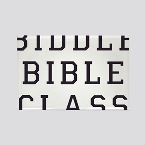 Biddle Bible Class Rectangle Magnet