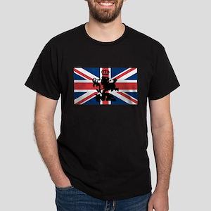 Union Jack Lion Dark T-Shirt