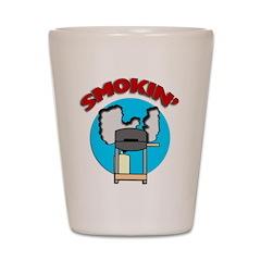 Smokin' Barbecue Shot Glass