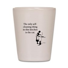 Kitchen Cat Shot Glass