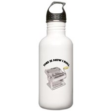 How I Roll Pasta Stainless Water Bottle 1.0L