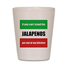 Jalapeno Lover Shot Glass