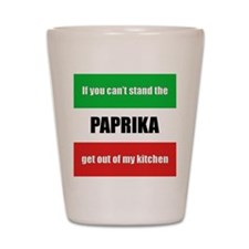 Paprika Lover Shot Glass