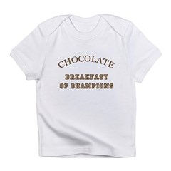 Breakfast Champions Chocolate Infant T-Shirt