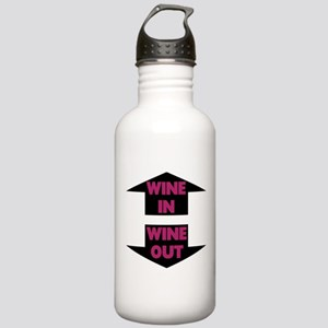 Wine In Wine Out Stainless Water Bottle 1.0L