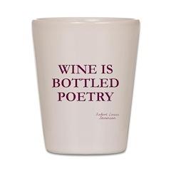 Wine Poetry Shot Glass