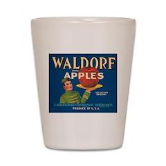 Waldorf Apples Shot Glass