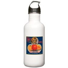 Tiger Fruit Crate Label Stainless Water Bottle 1.0