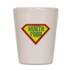 Super Health Food Shot Glass