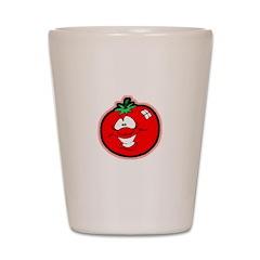 Silly Tomato Shot Glass
