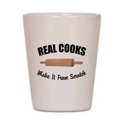 Scratch & Real Cooks Shot Glass