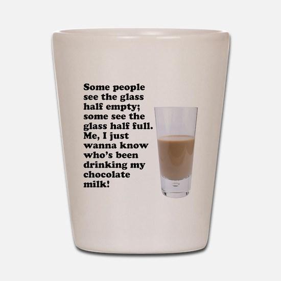 Chocolate Milk Shot Glass