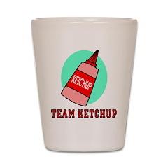 Team Ketchup Shot Glass