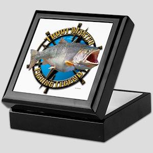 Fishing Legend Keepsake Box