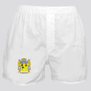 Vicente Family Crest - Coat of Arms Boxer Shorts