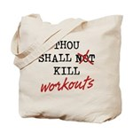 Thou Shall Kill Tote Bag