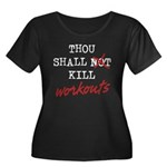 Thou Shall Kill Women's Plus Size Scoop Neck Dark