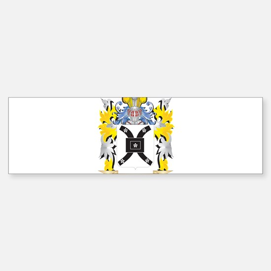 Vickers Family Crest - Coat of Arms Bumper Bumper Bumper Sticker