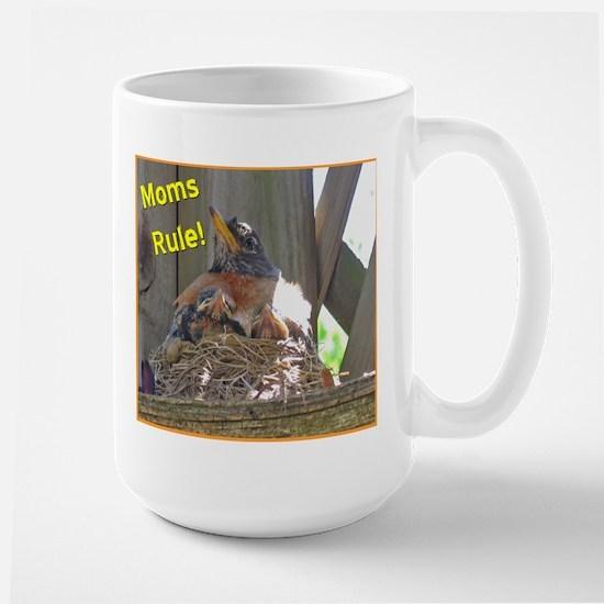 Mother's Day Robin Large Mug