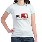 You Lift Jr. Ringer T-Shirt