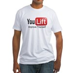 You Lift Fitted T-Shirt