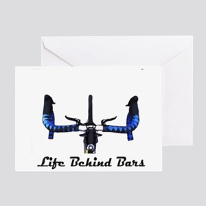 Life Behind Bars Greeting Card