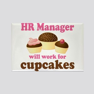 Funny Hr Manager Rectangle Magnet