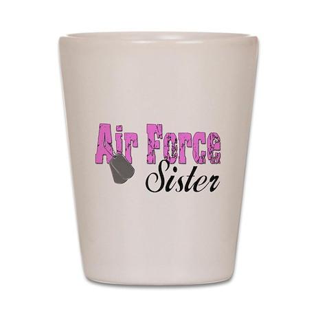 Air Force Sister Shot Glass