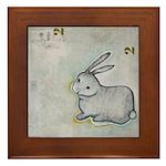 Bunny Framed Tile