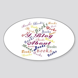 I Blog Sticker (Oval)
