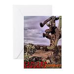 Saguaro Zombies Zombie 1 Greeting Cards (Pk of 20)