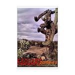 Saguaro Zombies Zombie 1 Mini Poster Print