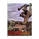 Saguaro Zombies Zombie 1 Large Poster