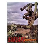 Saguaro Zombies Zombie 1 Small Poster