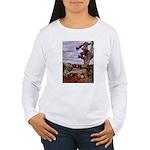 Saguaro Zombies Zombie 1 Women's Long Sleeve T-Shi