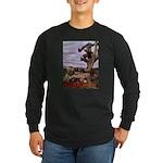 Saguaro Zombies Zombie 1 Long Sleeve Dark T-Shirt