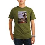 Saguaro Zombies Zombie 1 Organic Men's T-Shirt (da