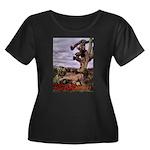 Saguaro Zombies Zombie 1 Women's Plus Size Scoop N