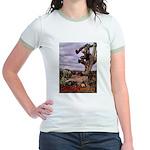 Saguaro Zombies Zombie 1 Jr. Ringer T-Shirt