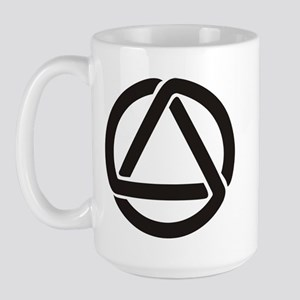 Large Mug with Celtic Triad