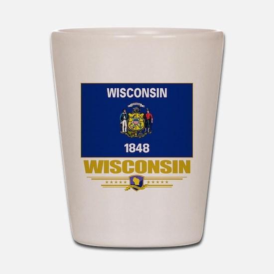 Wisconsin Pride Shot Glass