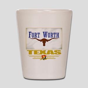 Fort Worth Pride Shot Glass