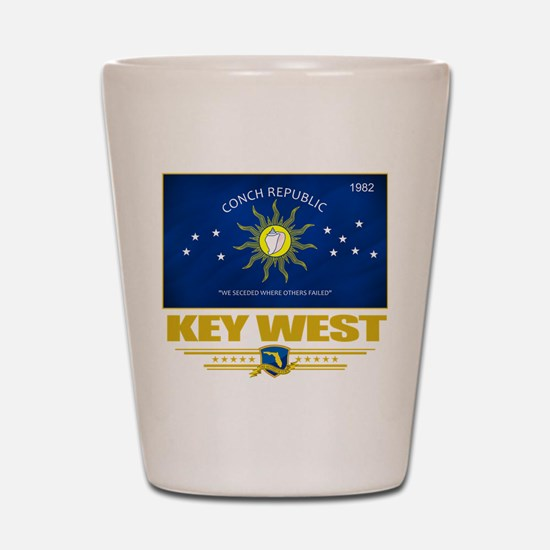 Key West Pride Shot Glass