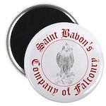 SCA falconry logo Magnet