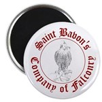 """SCA falconry logo 2.25"""" Magnet (10 pack)"""