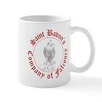 SCA falconry logo Mug