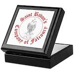 SCA falconry logo Keepsake Box