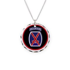 10th Mountain Division Necklace
