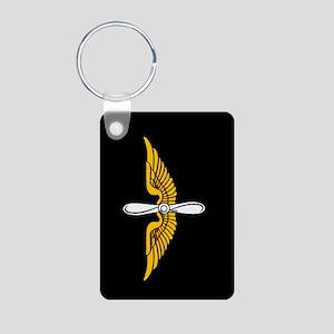 1st Aviation Brigade Aluminum Photo Keychain