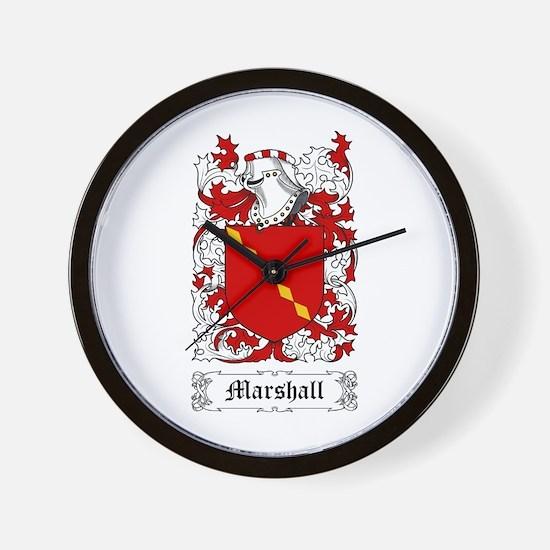Marshall I Wall Clock